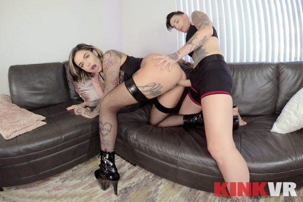 3. KinkVR - Lesbian Cuckolding