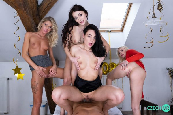 2. CzechVR - New Year's Fivesome