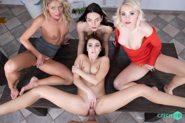 3. CzechVR - New Year's Fivesome