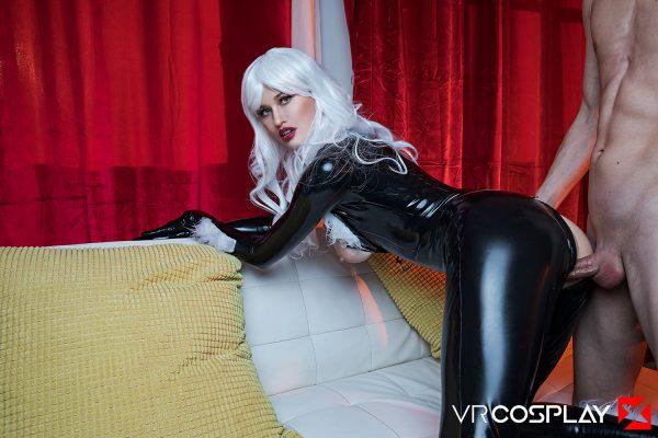 4. VRCosplayX - Black Cat A XXX Parody