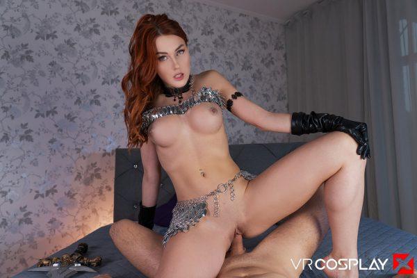 4. VRCosplayX - Red Sonja A XXX Parody