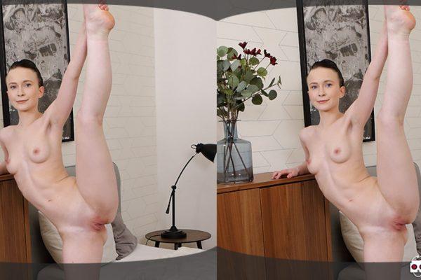 4. VirtualXPorn - Skinny gymnast stretching