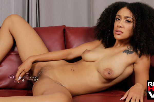 5. RealHotVR - Get Up Close With Ariana Aimes Soaking Wet Teen Pussy