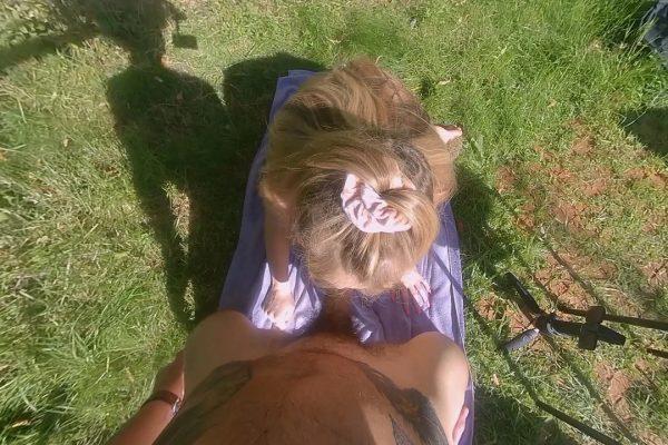 4. BabyKxtten - Hot Sunbathing With Stepdaddy