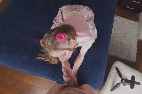 1. Babygirl - A Naughty Little Girl Takes Care Of Stepaddys Cock