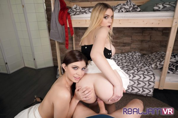 2. RealJamVR - Morning Sex with College Roommates