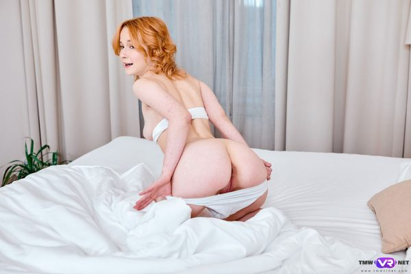 3. TmwVRnet - Long trip makes her pussy wet