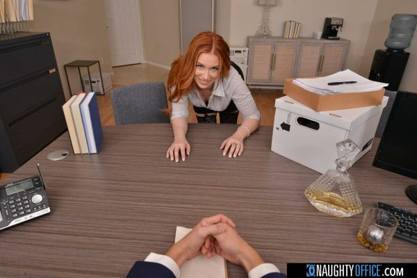 1. NaughtyAmericaVR - Naughty Office: Madison Morgan