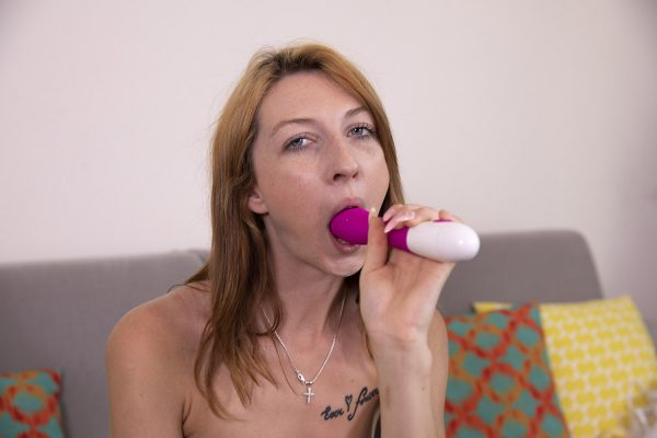 3. VRSexperts - Redhead Amateur First Time Video On The Couch