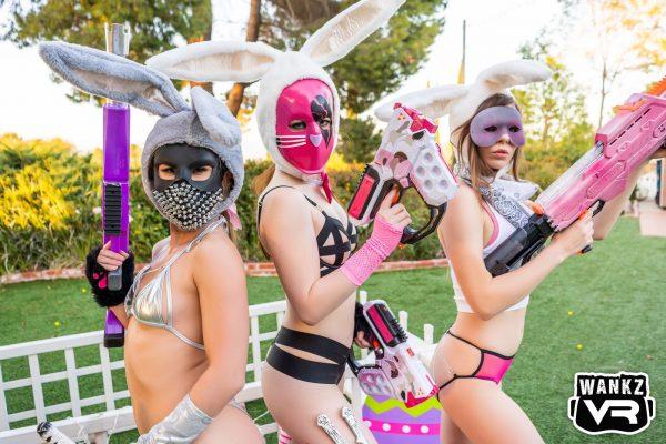 1. WankzVR - Bunny Battle Royale