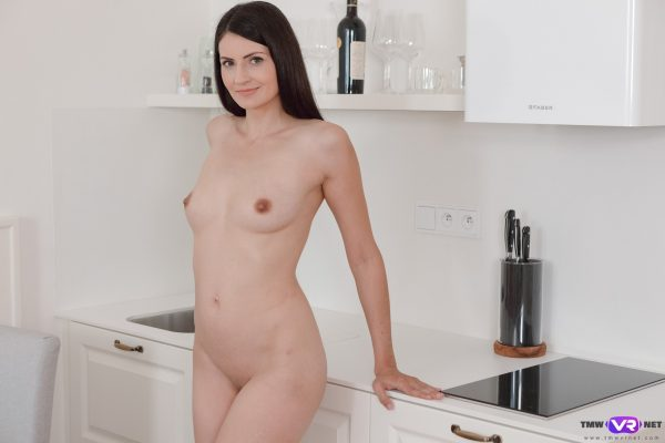 3. TmwVRnet - Solo orgasm on a kitchen chair