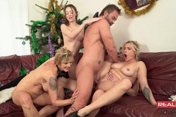 4. RealityLovers - Christmas Perverse Family